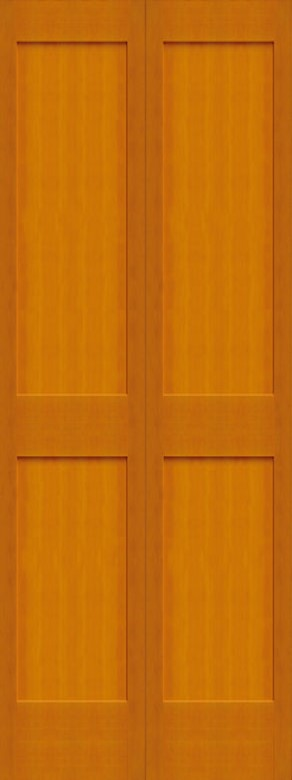 #8402 Fir Bifold Shaker Panel Interior Door