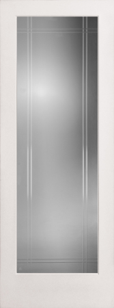 Riverton Clear French Glass Interior Door