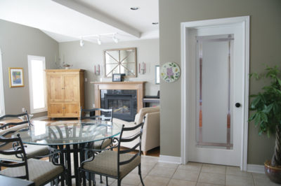 Riverton Obscure Interior French Door
