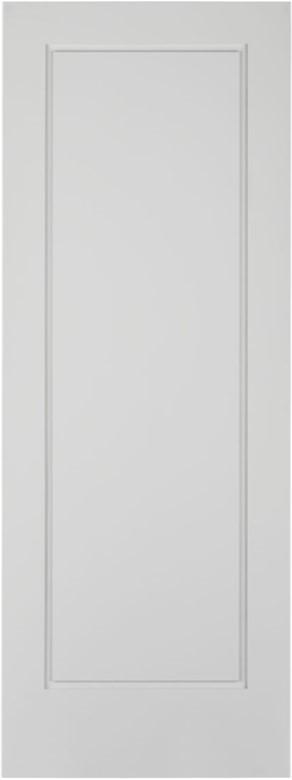 #8401HD Primed Shaker HD Interior Door