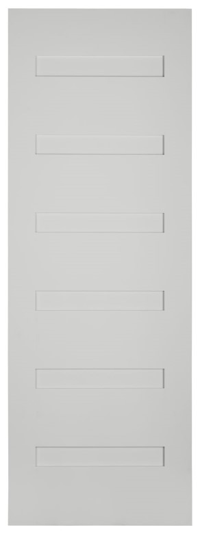 #8966 Primed Shaker Contemporary Interior Door