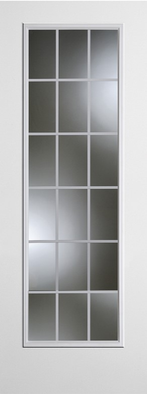 2280 18-Lite Internal Grid Doorlite Storm